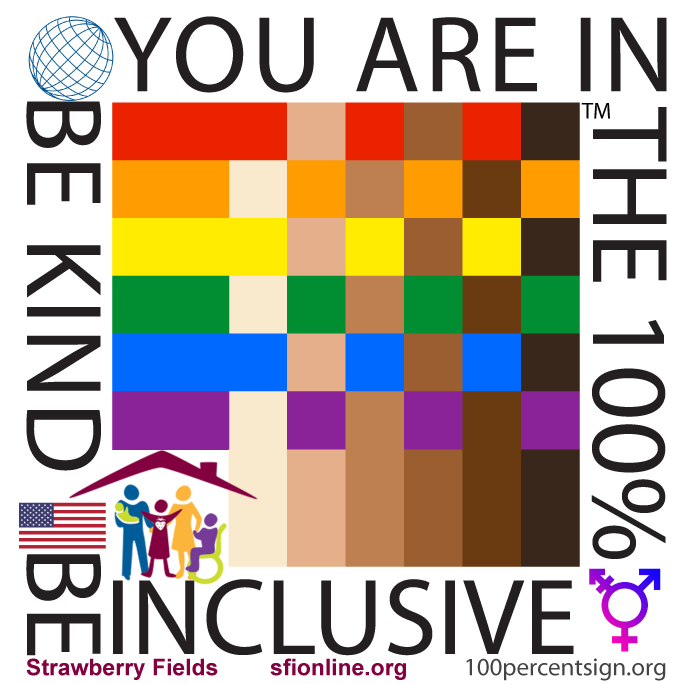 Strawberry Fields - you are in the 100% inclusive
